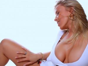 seksi dekolte