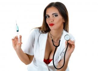 sexy medicinska sestra