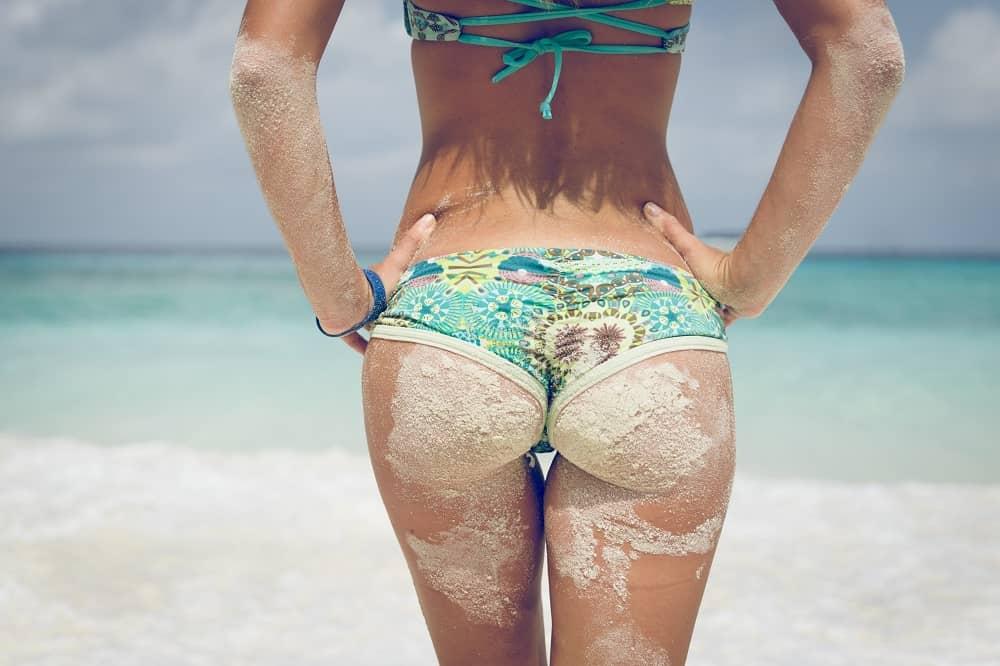 ritka od peska na obali